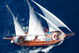 Motorsailer Yacht Charter Greece