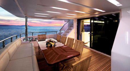Motoryacht charter Athen