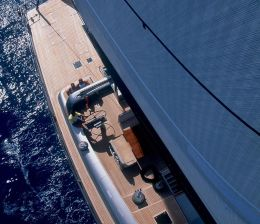 Sailing Yacht in Greece