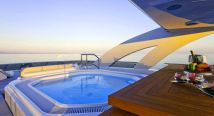 Yachts in for Greece