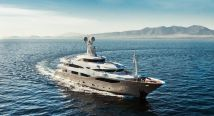 Yacht in Greece